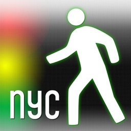 CrossWalk NYC: cross-street finder & subway map