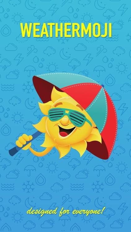 Weathermoji - Weather Stickers Emoji Keyboard