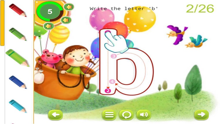 ABC Tracing English Alphabet Letters for Preschool