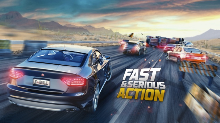 Road Racing: Highway Traffic Driving 3D screenshot-4