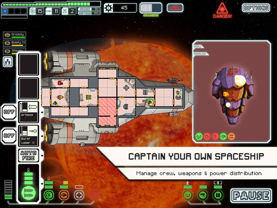 FTL: Faster Than Light для iPad