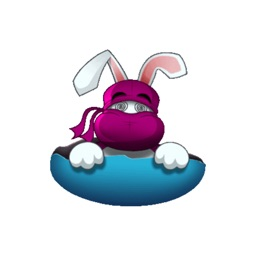 Cute Ninja Rabbit  (Animated) stickers by CandyA$$