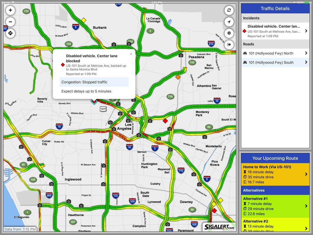 Sigalert Com Live Traffic Reports Online Game Hack And Cheat