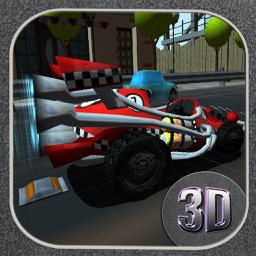 ` 3D Cartoon Town Racer Racing Simulator Free game