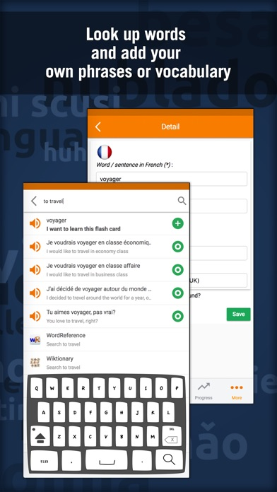 Screenshot #10 for Learn French - MosaLingua