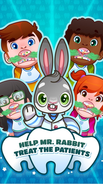 The Dentist Dream - Dr. Rabbit: Teeth Doctor Game