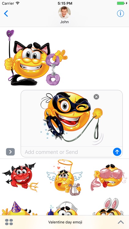 Valentine day Stickers for iMessage
