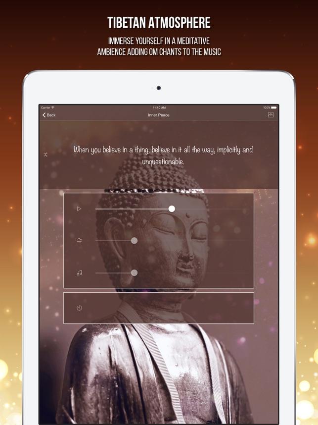 Buddhist Meditation: Om Chanting Music Mindfulness on the App Store