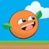 Splatty Orange