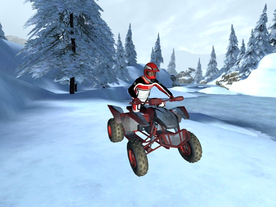 ATV Quad Bike Snow Parking Simulator 2017 screenshot 8