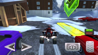ATV Quad Bike Snow Parking Simulator 2017 screenshot 2
