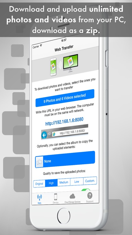 Easy Photo & Video Transfer - Backup and Share