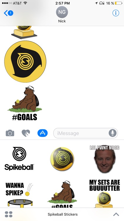 Spikeball® Stickers