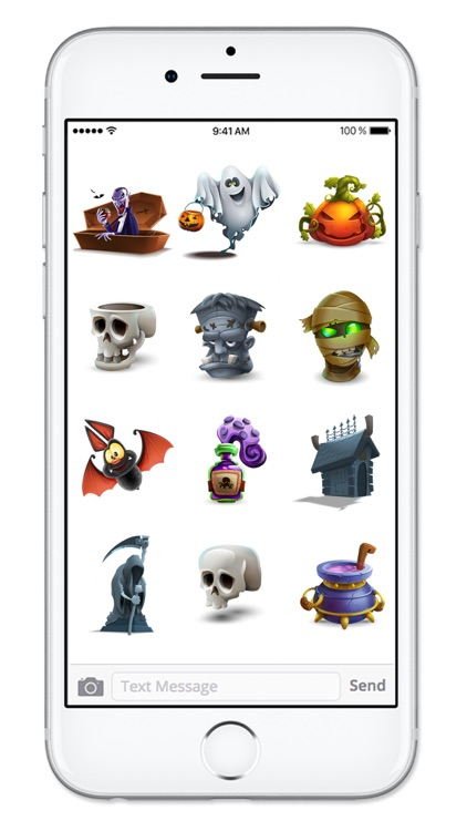Fun 3D Halloween Sticker Pack