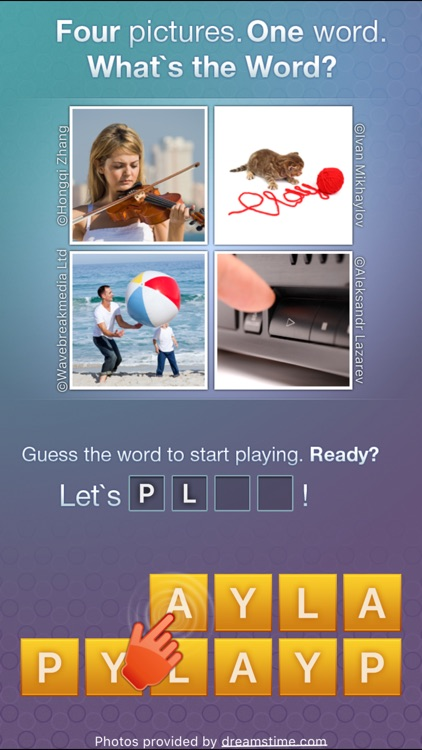What's the Word? - new quiz with pics and word