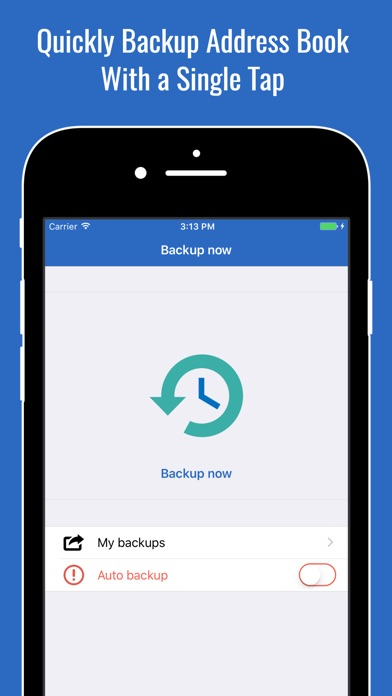 Backup Assistant - Merge, Clean Duplicate Contacts app image