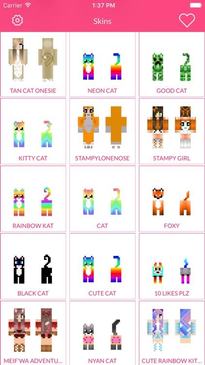 Cat Skin For Minecraft Edition screenshot-4