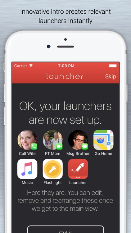 Launcher with Notification Center Widgets screenshot-4