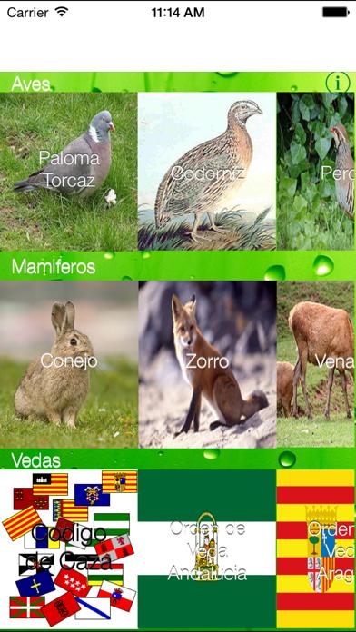 ReclamoApp, Reclamos de CazaCaptura de pantalla de1