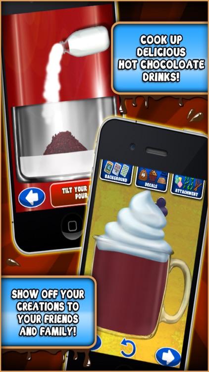Coffee Shop Maker - Make Hot Chocolate & Sweets screenshot-3