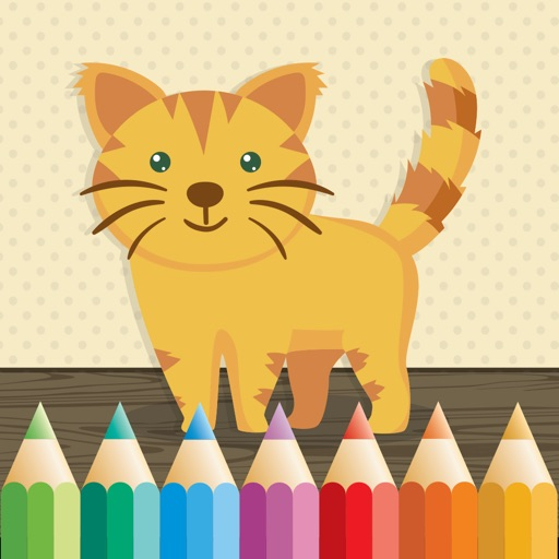 Cat Coloring Book for Kids: Learn to color & draw