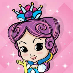 Paint & Play: Princess, Coloring Book For Girls