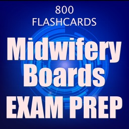 Midwifery Boards Exam Prep 2017 : 800 Flashcards