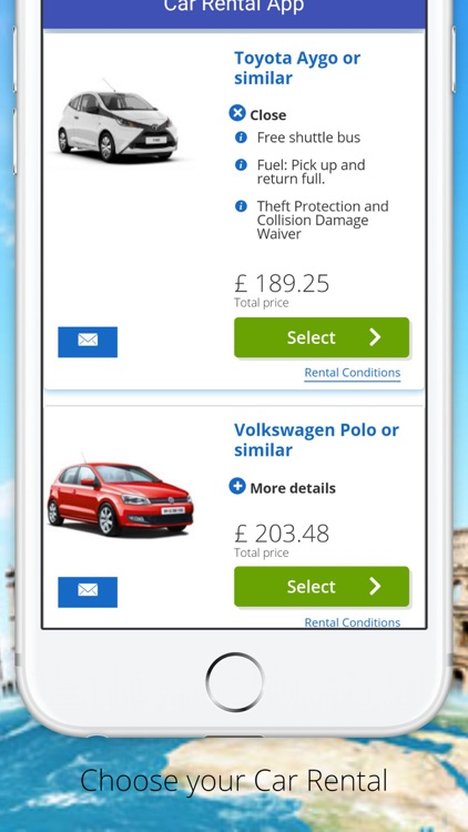 Car Rentals App