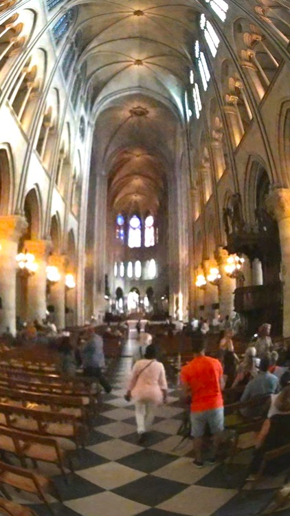 VR Notre Dame de Paris Virtual Reality 360 screenshot-4