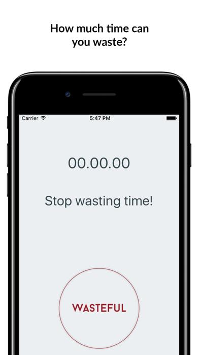 Wasteful Button screenshot two