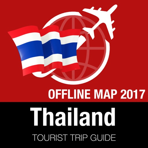 Thailand Tourist Guide + Offline Map