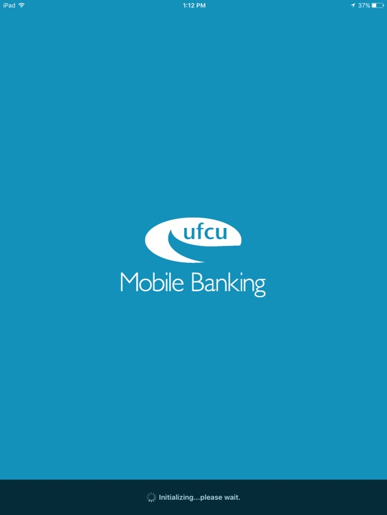 UFCU Mobile Banking for iPad