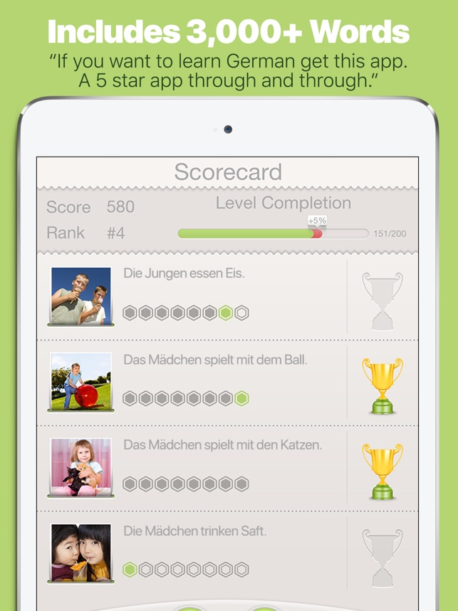 Learn German with Lingo Arcade on the App Store