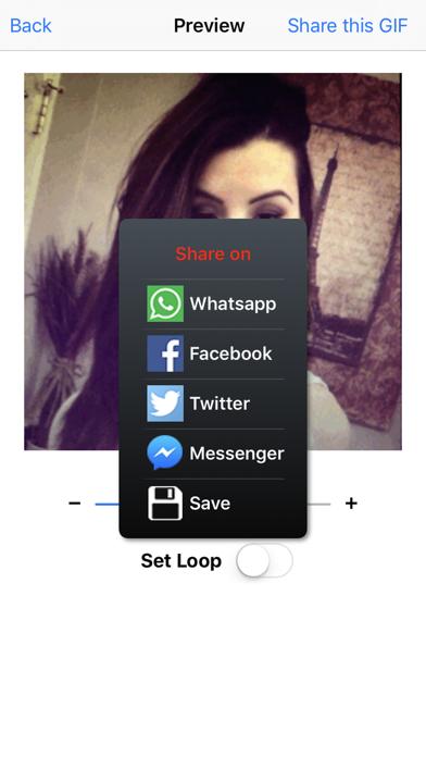 GIF GO - Create and share animated GIFs easily screenshot four