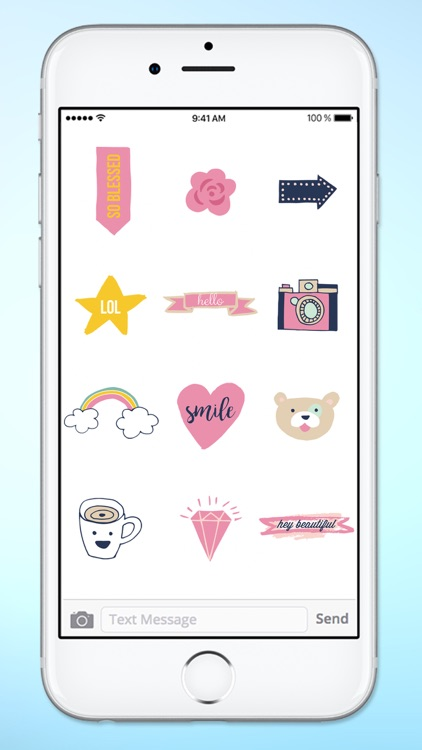 Hello I Love You Sticker Pack screenshot-4
