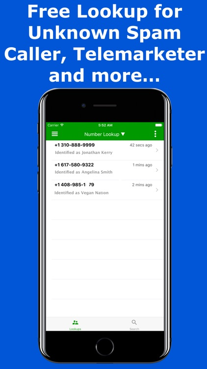Look Up - Reverse Phone Lookup Number & Caller ID