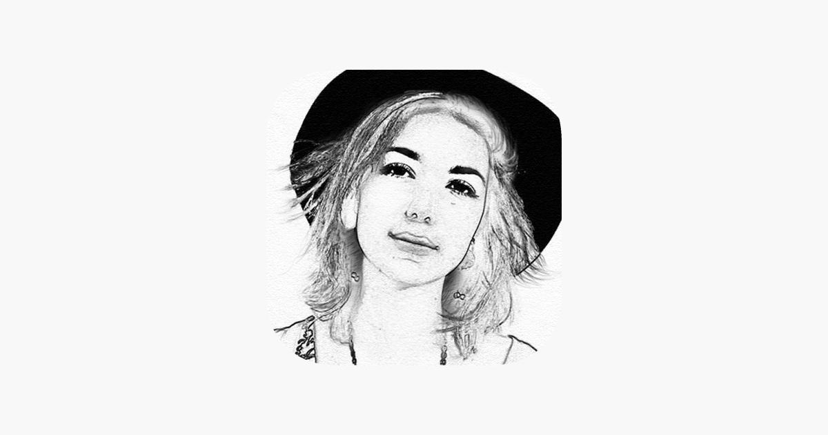 Foto A Disegno A Matita Ritratto Effetti Schizzo Su App Store