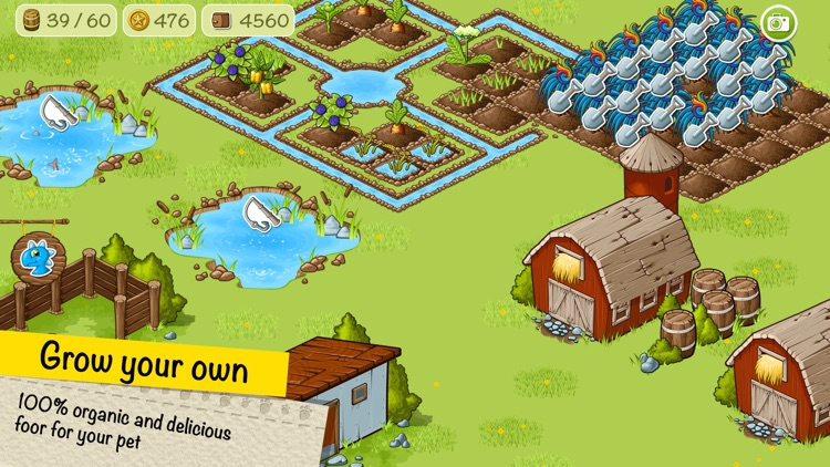 Virtual pet Dino and his farm screenshot-3