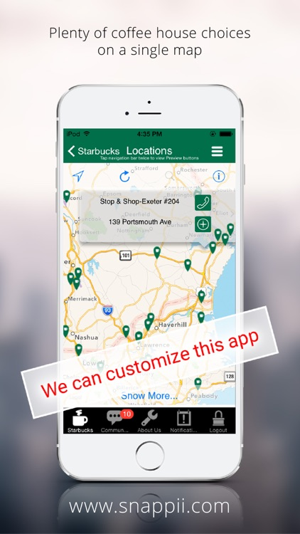 Great Coffee Finder for Starbucks