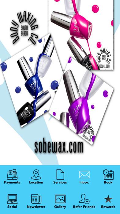 South Beach Body Waxing Company screenshot one
