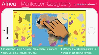 Africa - Montessori Geography screenshot 1