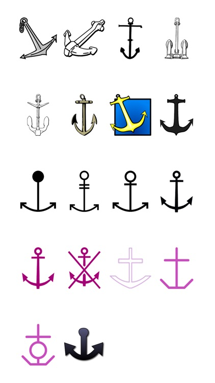 More Anchors One Sticker Pack