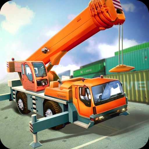 Construction City Truck Loader Operator