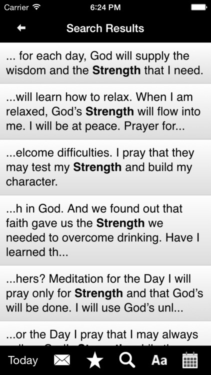Twenty-Four Hours a Day: Recovery Meditations screenshot-3