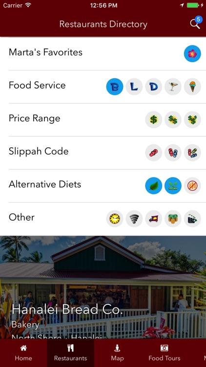 Tasting Kauai Restaurant Guide