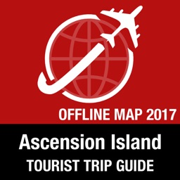 Ascension Island Tourist Guide + Offline Map