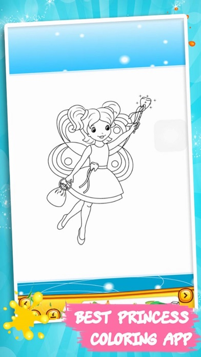 Princess Color Book – Painting Pic 3