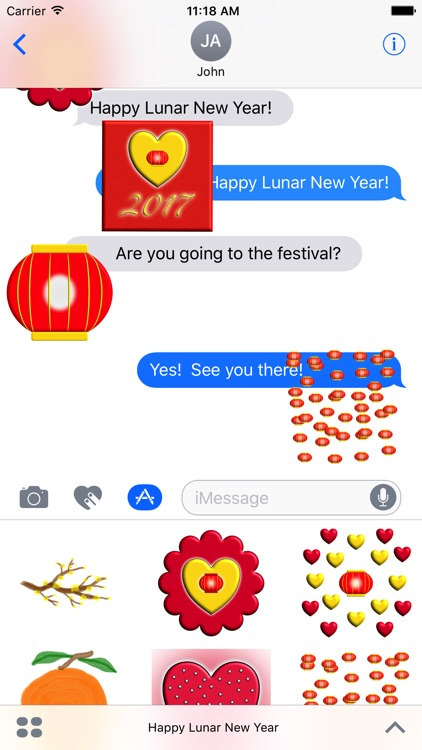 Happy Lunar New Year screenshot-3