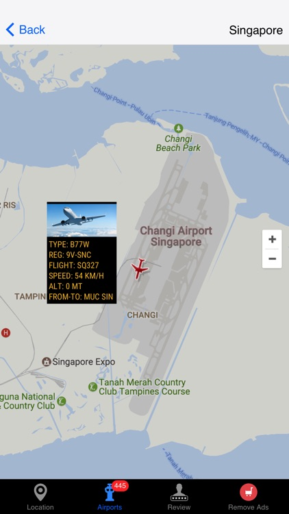 Air Tracker For Singapore Airlines screenshot-4