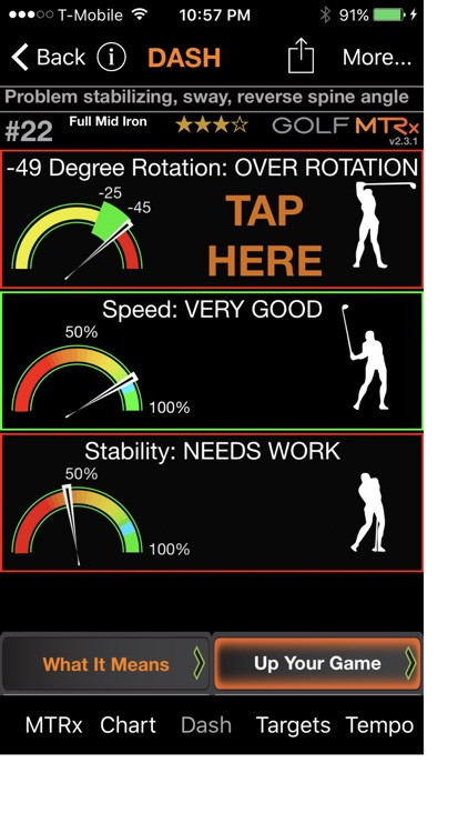 Golf MTRx screenshot-0